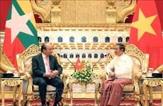 Le Vietnam et le Myanmar publient une déclaration commune