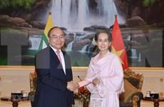 Le PM Nguyen Xuan Phuc termine sa visite officielle au Myanmar