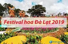 Le festival des fleurs à Da Lat