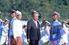 Le Vietnam et le Myanmar poursuivent à promouvoir les liens bilatéraux à une nouvelle hauteur