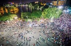Ballade dans la zone piétonne de Hoàn Kiêm, espace culturel de Hanoi