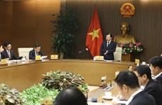 Le vice-PM Trinh Dinh Dung demande d'accélérer la stratégie d'industrialisation