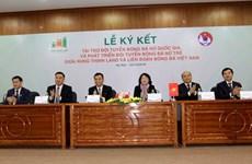 Hung Thinh Land parrainera le football féminin du Vietnam