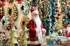 Le sapin dans tous ses états sur le marché de Noël