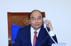 Conversation téléphonique entre Nguyen Xuan Phuc et Dmitri Medvedev