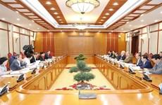 Le leader du Parti préside la réunion du Politburo