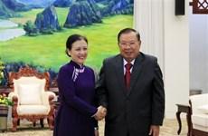 Le leader lao souligne les liens spéciaux avec le Vietnam