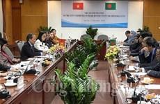 Renforcement des relations commerciales avec le Bangladesh