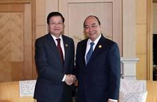 Le PM laotien participera à la réunion du Comité intergouvernemental Vietnam-Laos