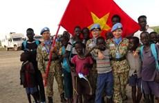 Les Casques bleus renvoient l'image d'un Vietnam amical et dynamique