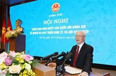 Le leader du Parti salue les acquis, exhorte à redoubler d'efforts