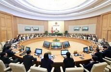 Le PM Nguyên Xuân Phuc préside la dernière réunion gouvernementale de 2019