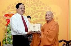 Le président du CC du FPV souligne les contributions des bouddhistes au développement national