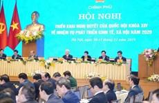 Le Vietnam fait du développement économique une priorité en 2020
