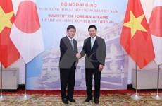 Entretien entre les ministres vietnamien et japonais des AE