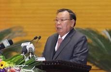 Des hauts dirigeants laotiens saluent la coopération en matière judiciaire avec le Vietnam