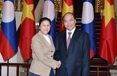 Le Premier ministre reçoit la présidente de l'Assemblée nationale laotienne