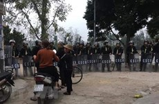 Police de Hanoï : Le Dinh Kinh mort en tenant une grenade à la main