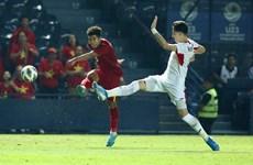 Championnat U23 de l'Asie 2020 : Le Vietnam fait match nul contre la Jordanie