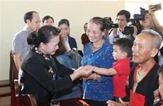 La présidente de l'Assemblée nationale en tournée à Dak Lak