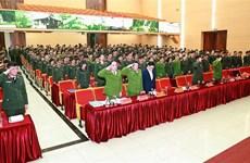 Affaire de Dong Tam : cérémonie d'encouragement au courage des policiers sacrifiés
