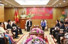 Une membre du Politburo salue les contributions des catholiques