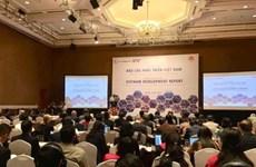 Le Vietnam Development Report 2019 rendu public
