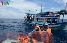 Un Têt précoce sur le bateau de sauvetage 954