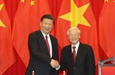 """Entre le Vietnam et la Chine, """"l'amitié et la coopération sont le courant principal"""""""