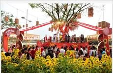 La foire aux fleurs printanières de Phú My Hung 2020 s'ouvre