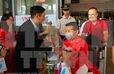Da Nang accueille les premiers visiteurs du Nouvel An lunaire
