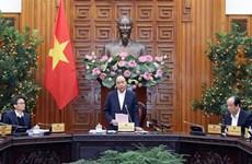 Le PM préside une réunion d'urgence sur le nouveau coronavirus