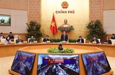 Nouveau coronavirus : le vice-PM Vu Duc Dam préside une vidéoconférence nationale