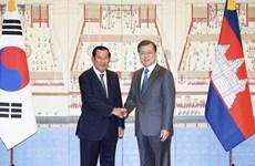 La R. de Corée et le Cambodge renforcent leur coopération multiforme