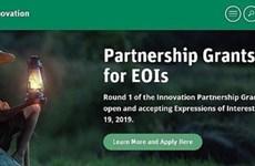 Lancement du 2e round du programme de subventions pour le partenariat dans l'innovation