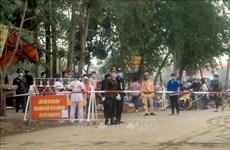 Vinh Phuc : point presse sur la lutte contre le COVID-19