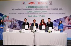 Le Vietnam établit un PPP pour lutter contre les déchets plastiques