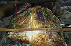 Le poisson plié grillé Thaï, plaisirs gourmands