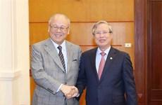 Le conseiller spécial de l'Alliance des députés d'amitié Japon-Vietnam à Hanoï
