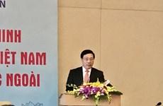 Valoriser la pensée du Président Hô Chi Minh à l'étranger