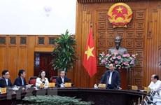 Le PM Nguyen Xuan Phuc travaille avec les autorités de Bac Lieu