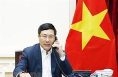 Pham Binh Minh s'entretient par téléphone avec la ministre sud-coréenne des AE