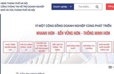 Hanoi lance un portail pour soutenir les PME
