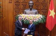 Le PM reçoit une délégation du Conseil des affaires Etats-Unis-ASEAN