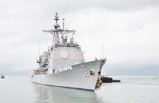 La visite des navires de guerre américains au Vietnam aide à promouvoir les relations bilatérales