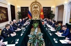 Dialogue stratégique de niveau de premier vice-ministre des AE Vietnam-Russie