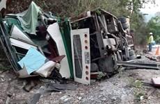 Deux Vietnamiens décédés dans un accident de bus au Laos