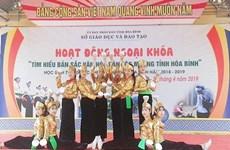 Hoa Binh: Efforts de préservation et de valorisation de la culture traditionnelle dans les écoles