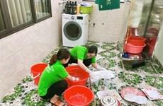 Face au COVID-19, les aide-ménagères fuient la capitale