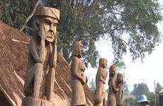 Les statues folkloriques, l'âme des ethnies Bahnar et Jrai